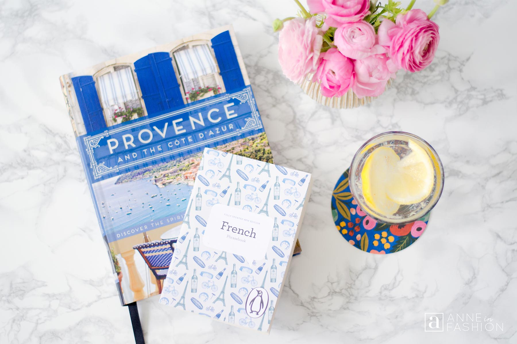 Provence and the Côte d'Azur book by Janelle McCulloch with French Phrasebook